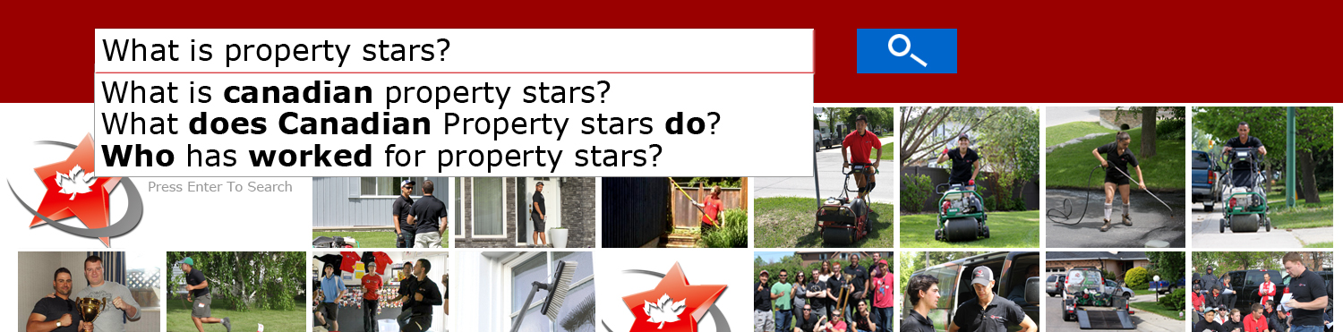 Canadian Property Stars Jobs banner